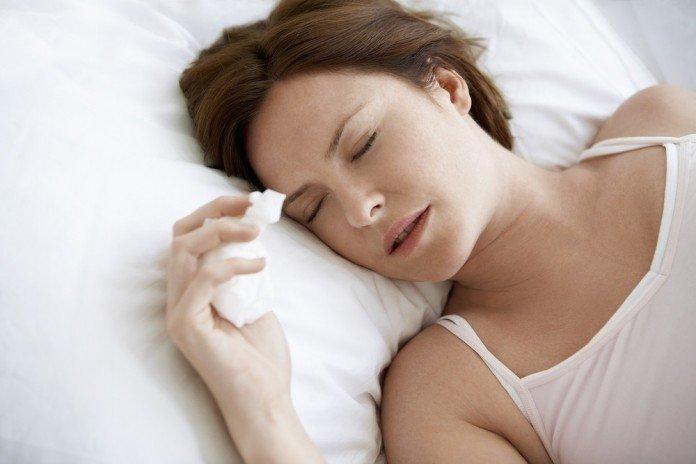 Erkältung Schlafen Trick Gesund