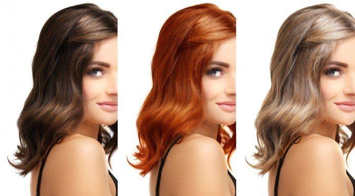 Haare Haarfarbe Ursache