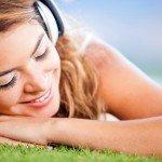 Musik Hören Glücklich Entspannung