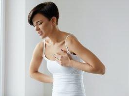 Brustschmerzen Ursachen Busen Herz Symptome