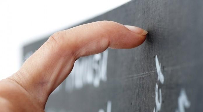 Geräusche Quitschen Alarmsignal Tafel Finger Gänsehaut
