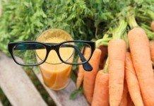 Vitamin A Vitalstoffe Augen Sehkraft Karotten