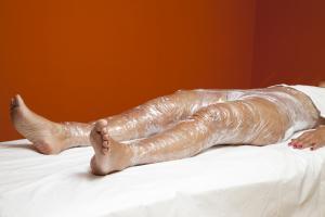 Cellulite Behandlung Body Wrap Lymphdrainage Thalasso