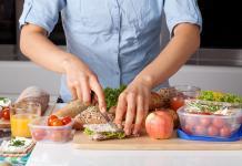 Die Ernährung sollte aus Obst Gemüse und Volkorn Produkte bestehen